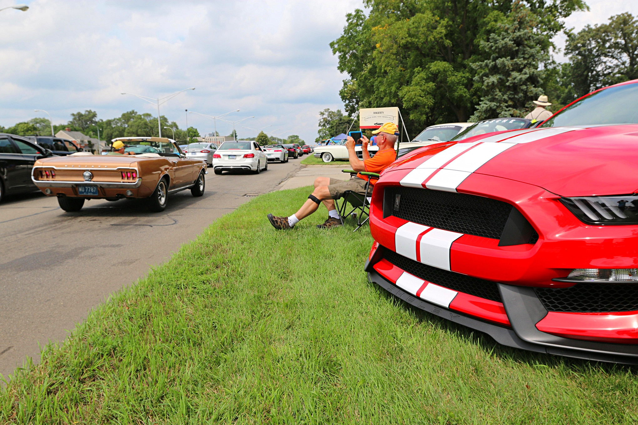 2016 Woodward Dream Cruise Mustangs 139