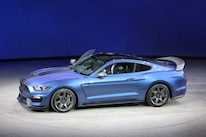 Ford Mustang Shelby Gt350 Vs Gt500 Blue Top