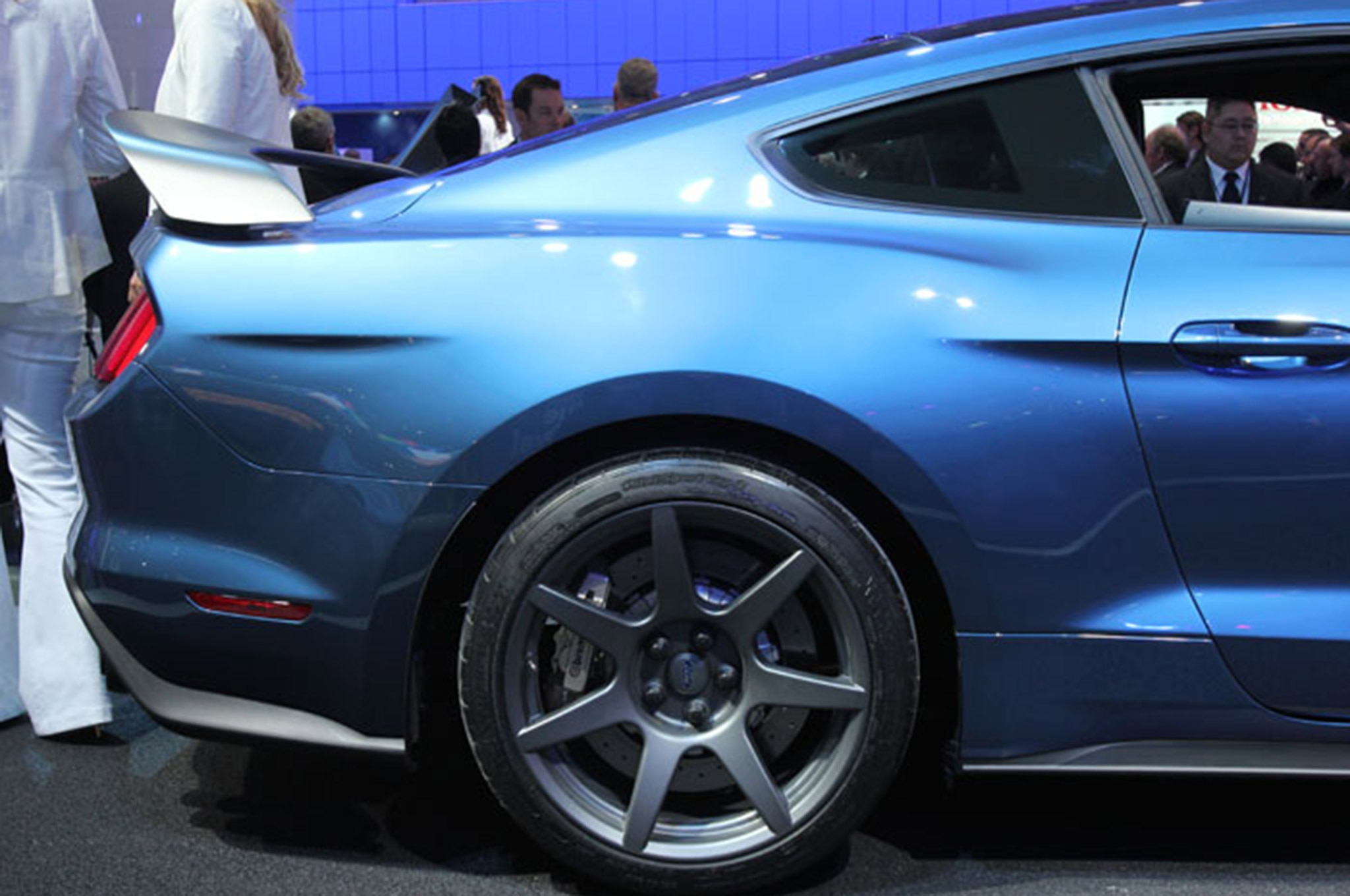Ford Mustang Shelby Gt350 Vs Gt500 Panel