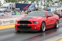 Ford Mustang Shelby Gt350 Vs Gt500 Red Black