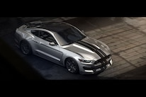 Ford Mustang Shelby Gt350 Vs Gt500 Silver