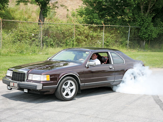 1988 Lincoln Mk Burnout