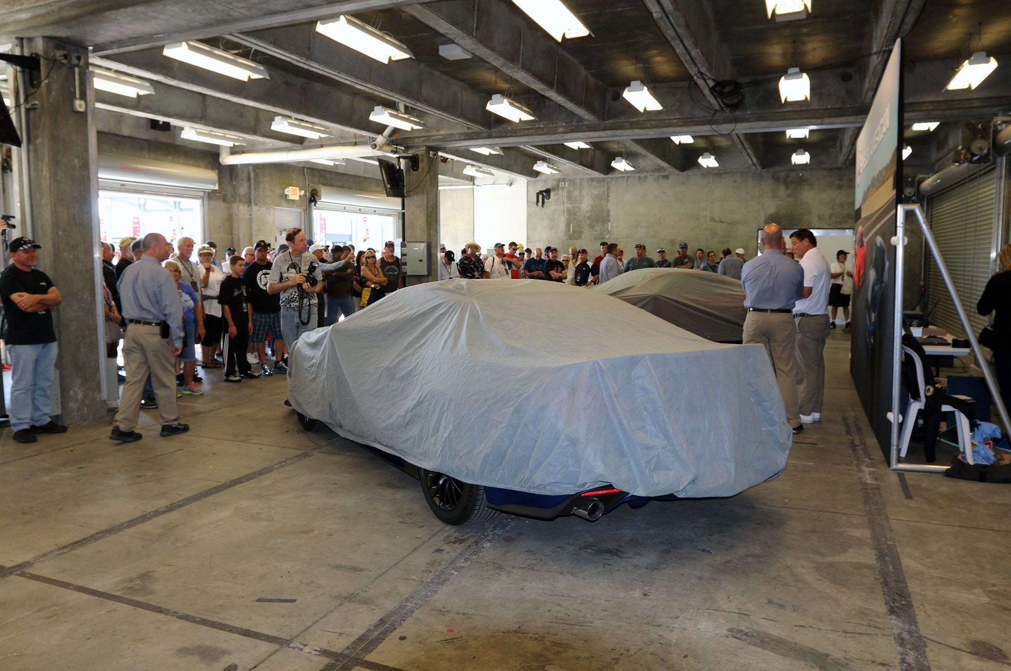 2017 Shelby GTE Reveal Crowds