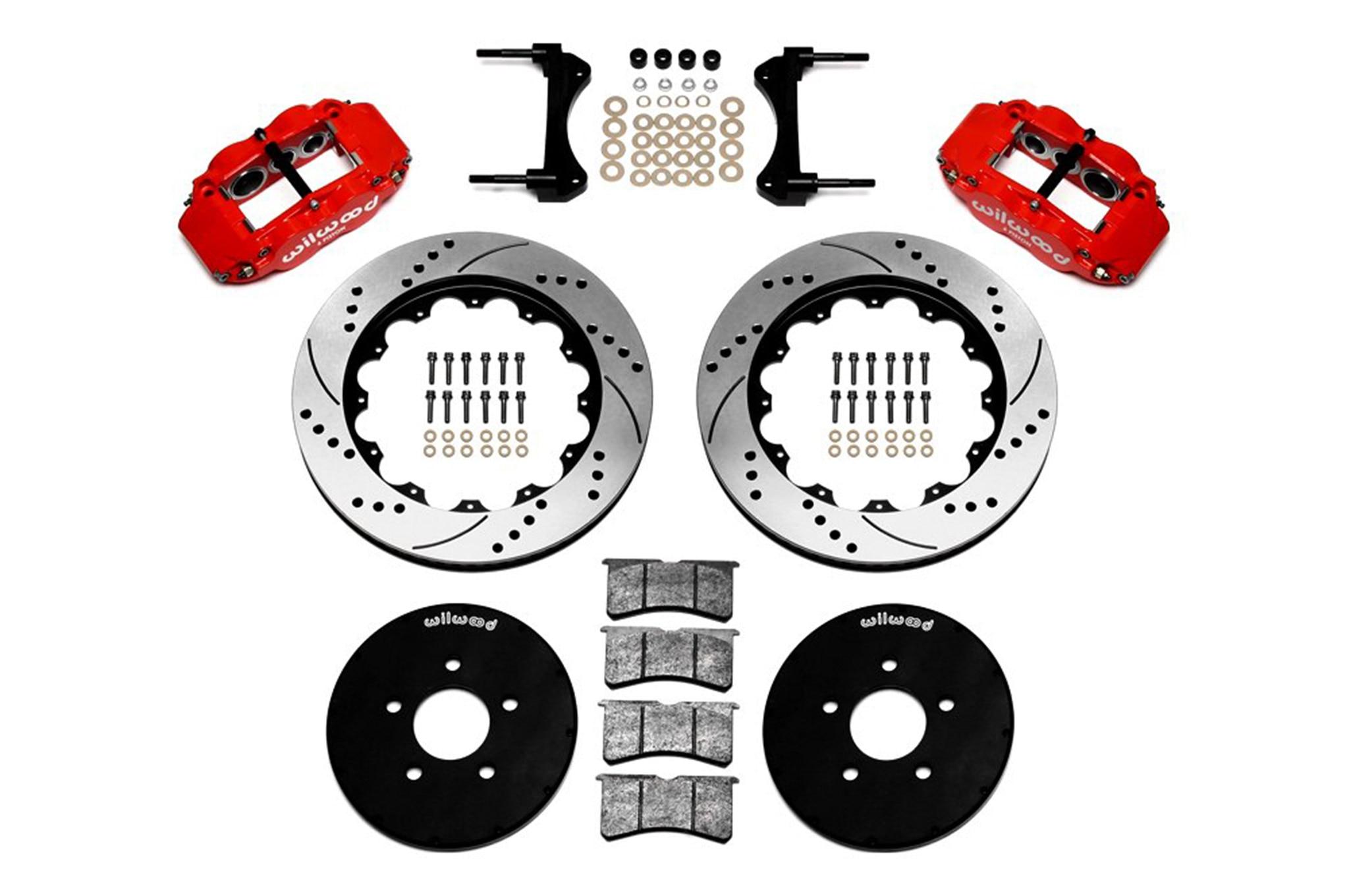 02 Wilwood Big Brake Upgrade Superlite 6r Parts