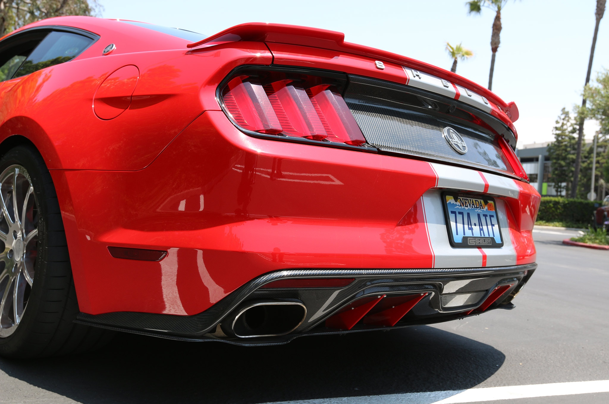 2015 Shelby GT Mustang 26 Borla Exhaust