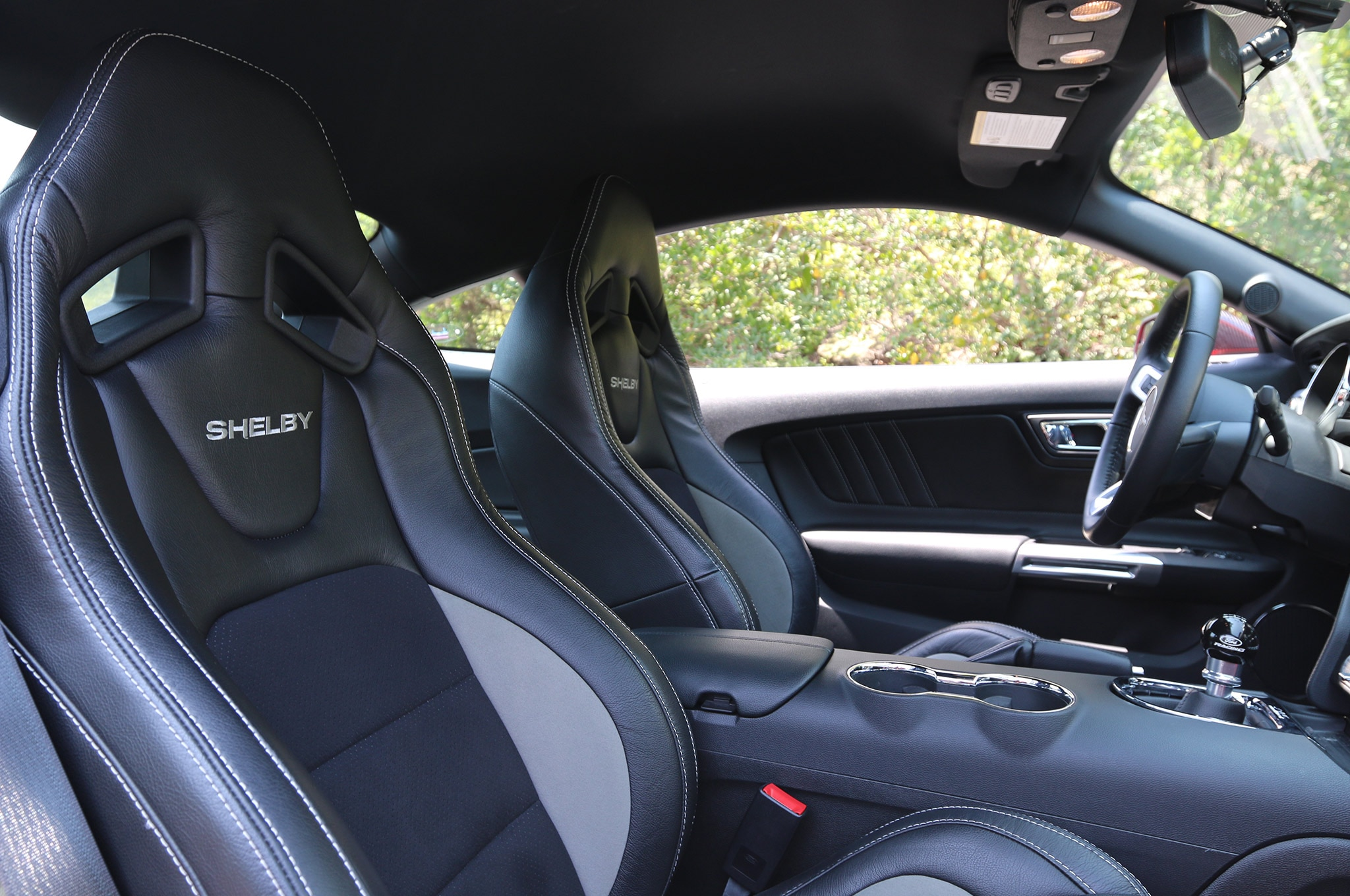 2015 Shelby Gt Mustang 44 Recaro Leather Seats Photo 119178782 Video First Look At The 650hp 2015 Shelby Gt S550 Mustang