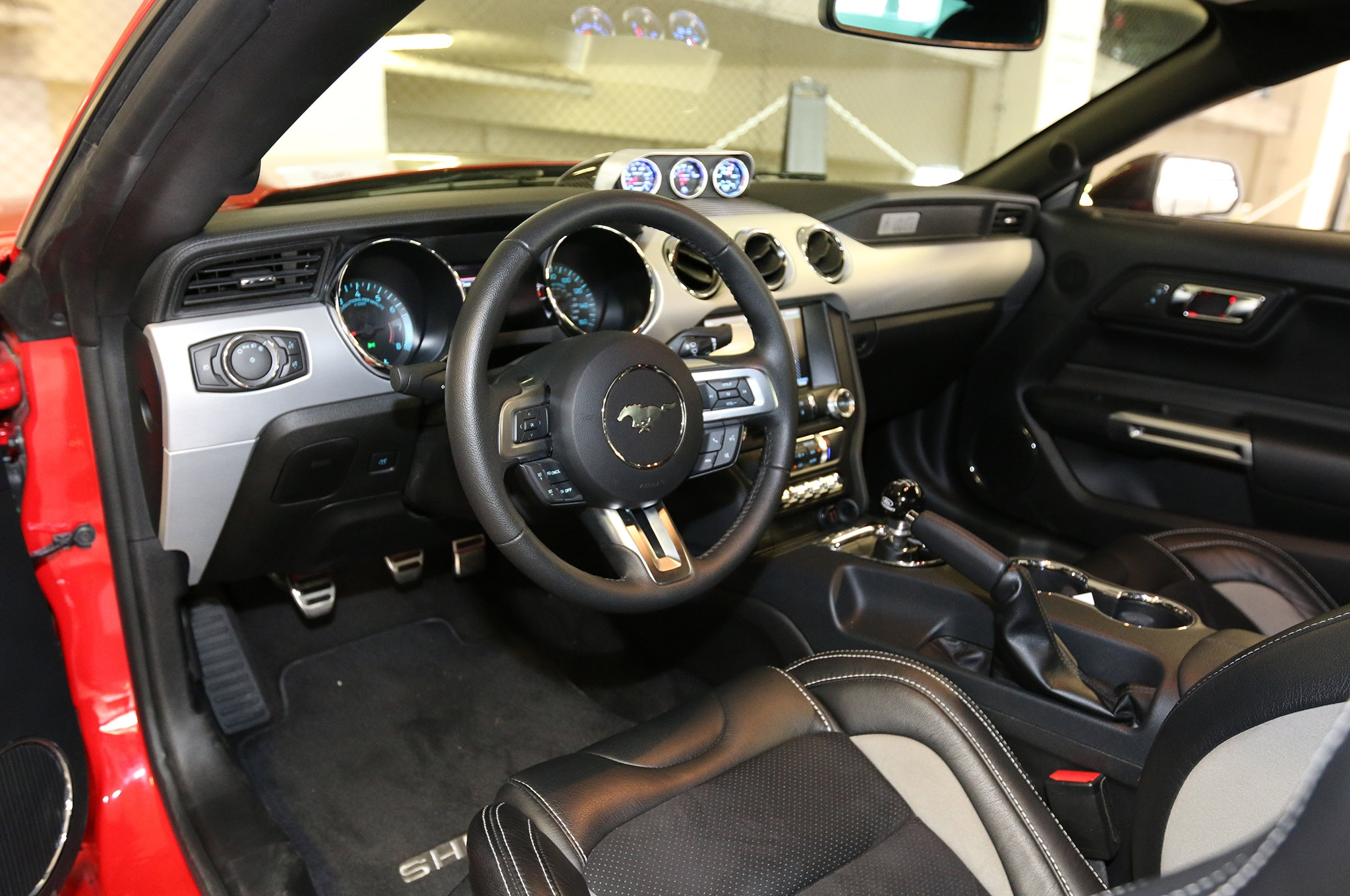 2015 Shelby GT Mustang 50 Steering Wheel