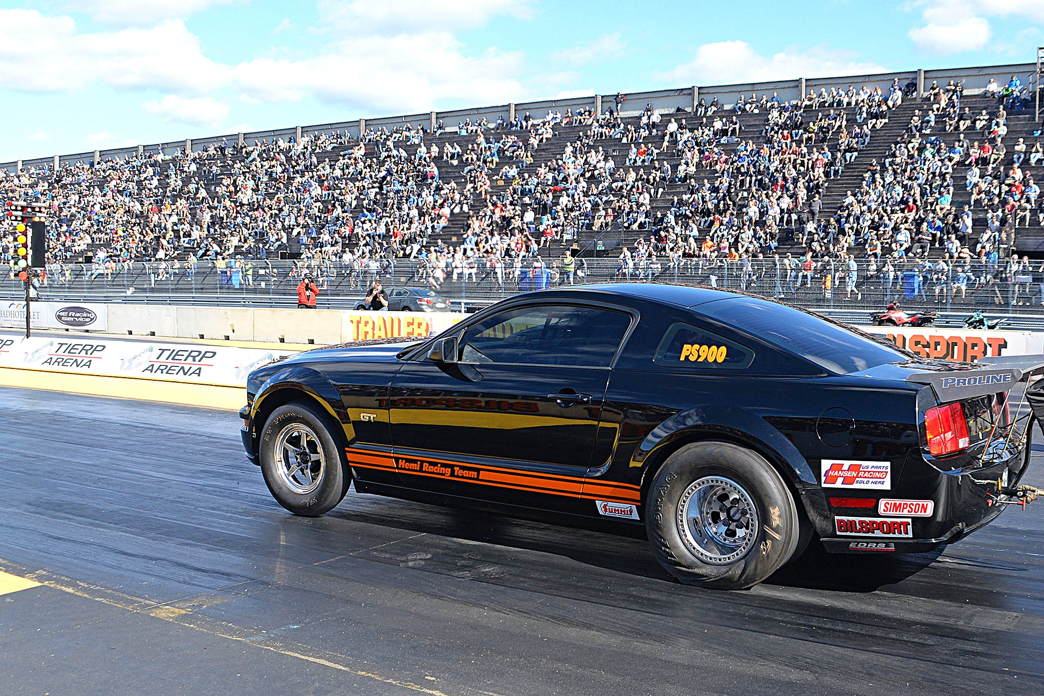Shelby Mustang Ford Racing At Tierp In Sweden 04