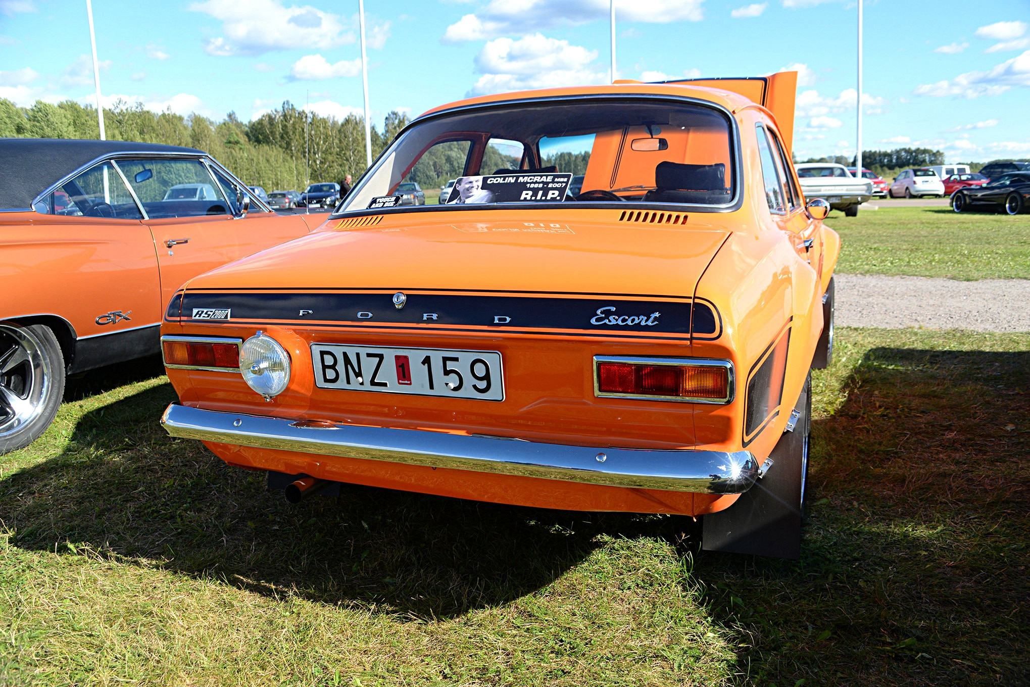 Ford Racing At Tierp In Sweden 32