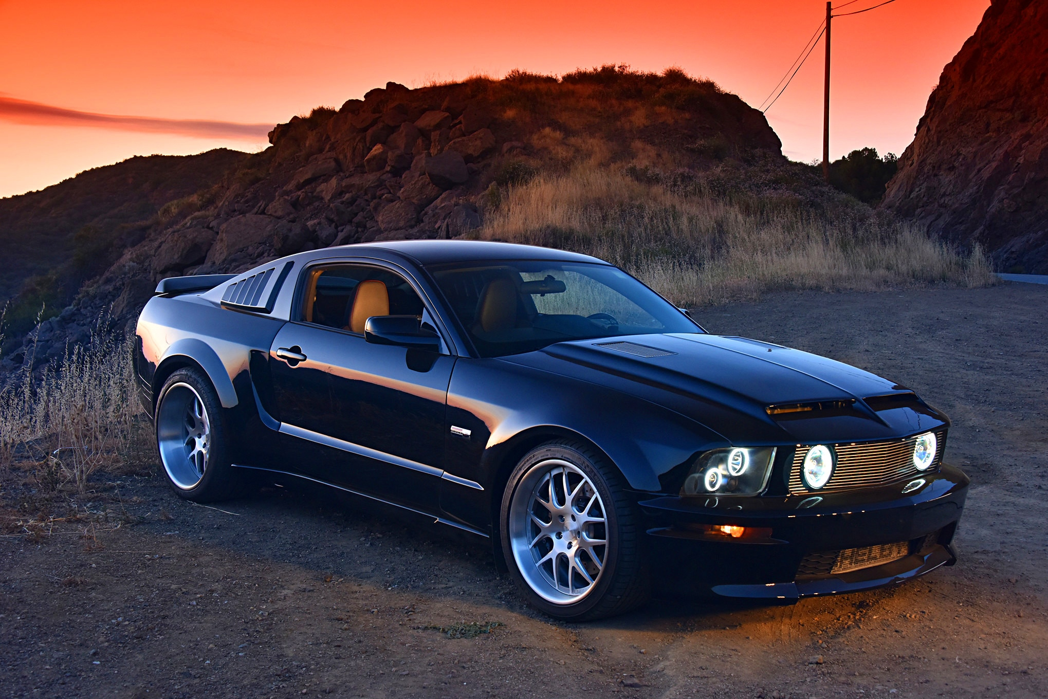 2007 Ford Mustang Shelby Wide Body 20