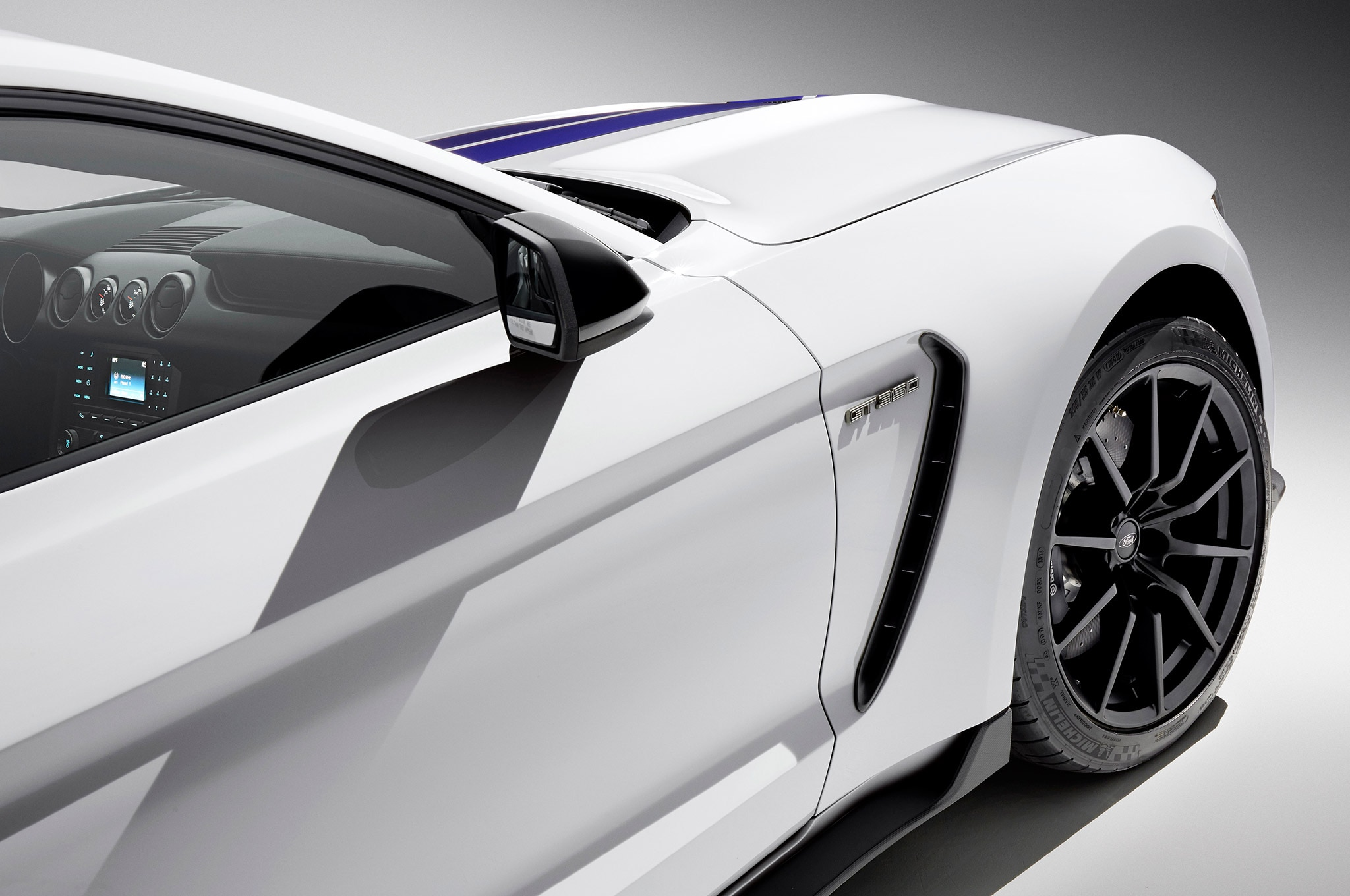 2016 Ford Mustang Shelby Side Panel