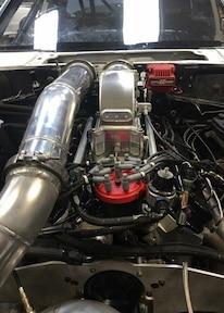 1991 Jon Thomas X275 Coupe Engine