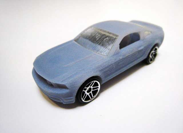 Mattel Hot Wheels 2010 Ford Mustang