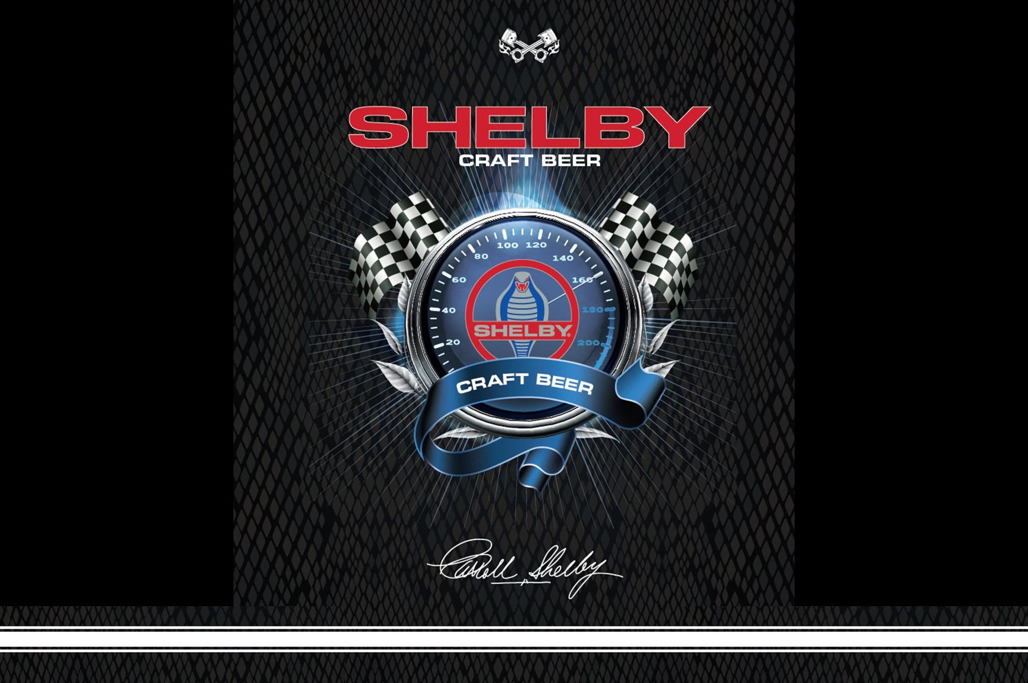 Carroll Shelby Craft Beer Logo