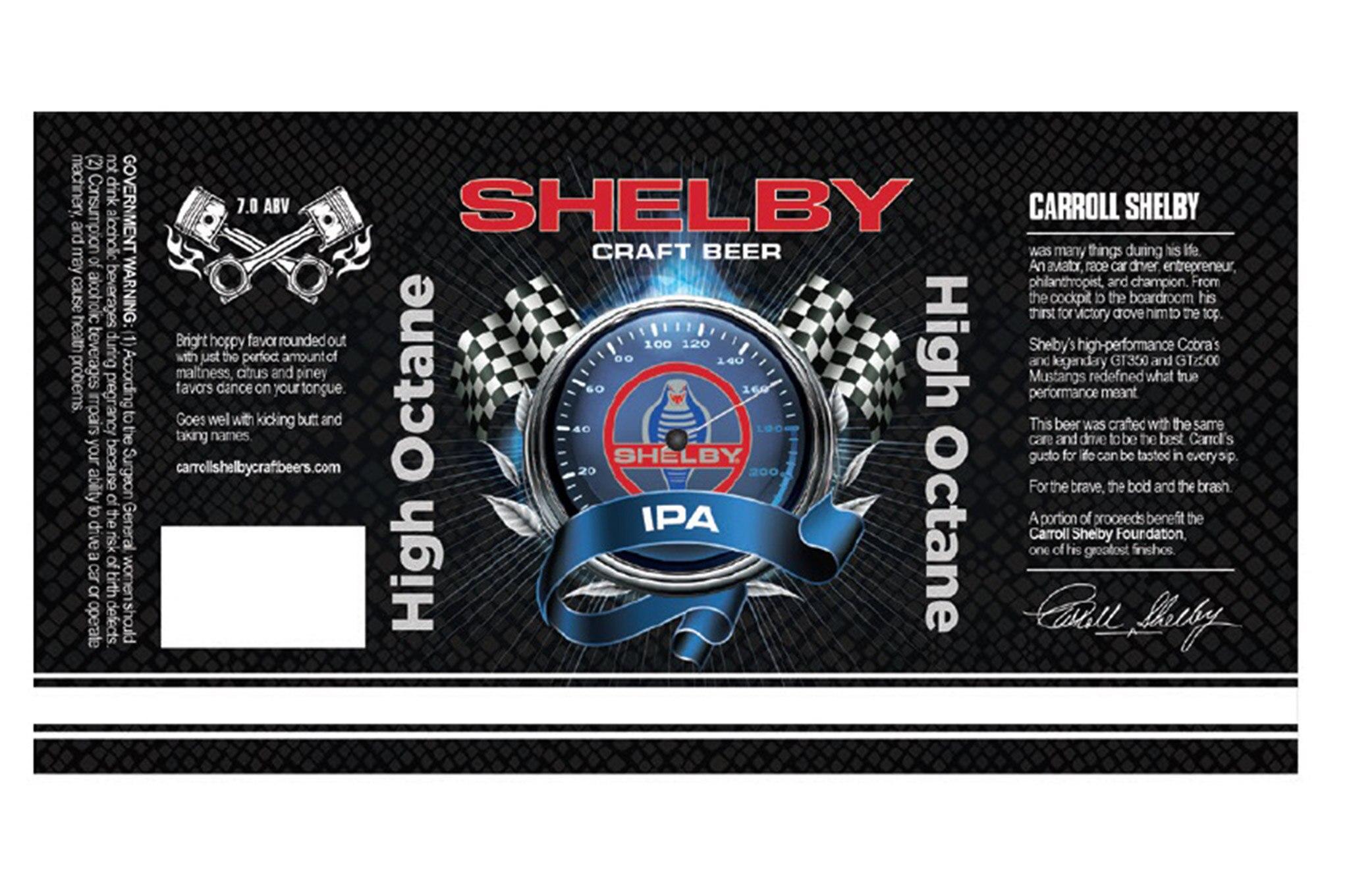 Carroll Shelby Craft Beer High Octane Ipa