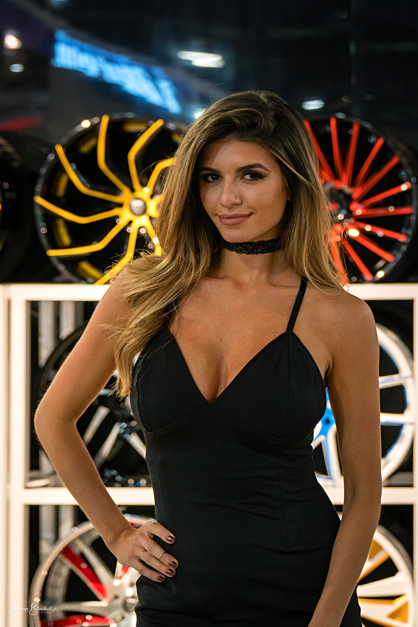 Sema 2016 Girls Booth Spokesperson 088