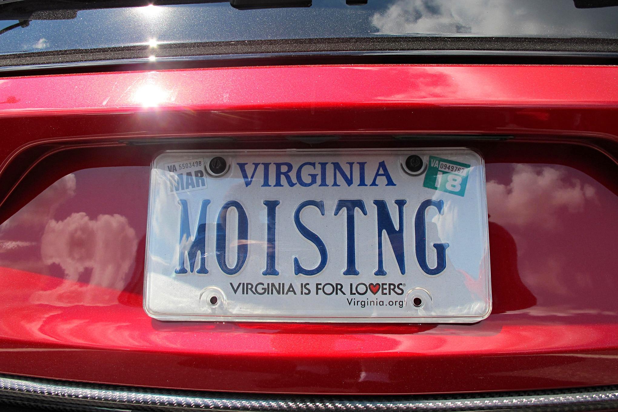 2016 Mustang Week Mustangs Custom License Plates 65