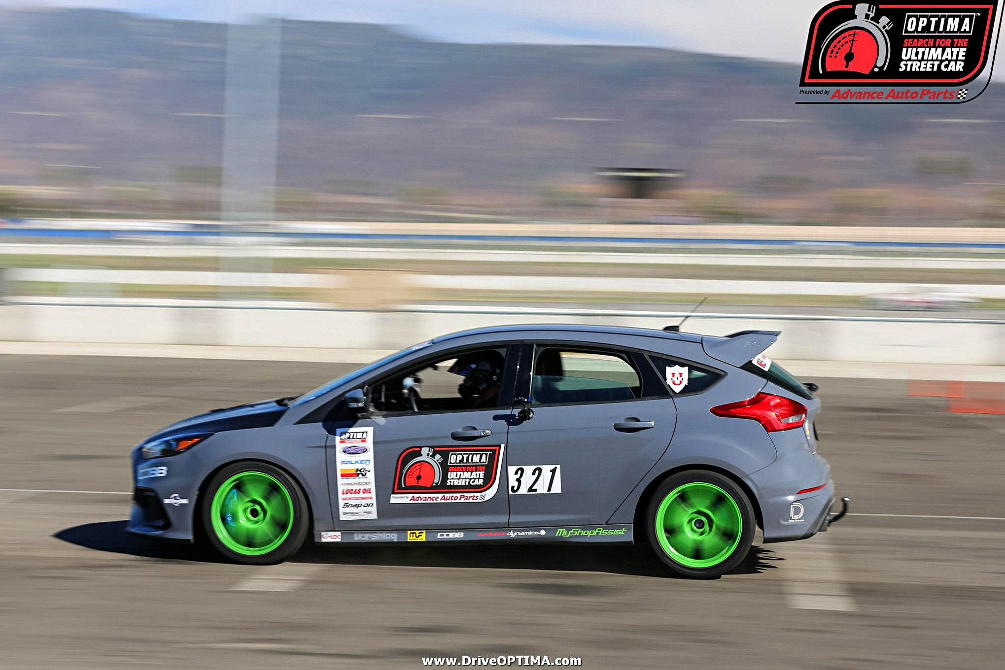 MMFF Todd Earsley 2016 Ford Focus RS Saturday DriveOPTIMA Fontana 2016 67