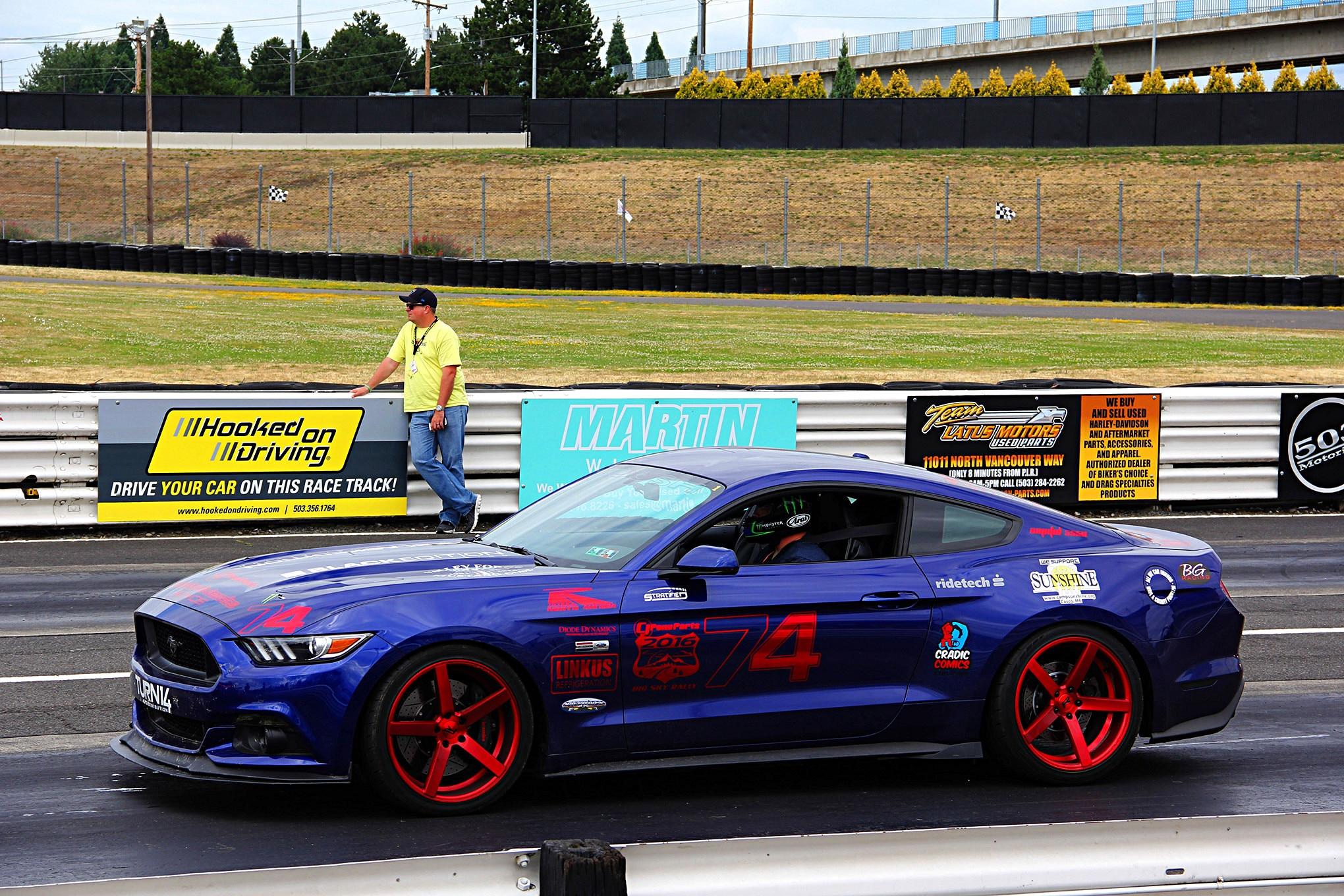 Portland International Raceway 7 Bill Tumas