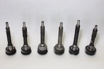Six T 5 Input Shafts