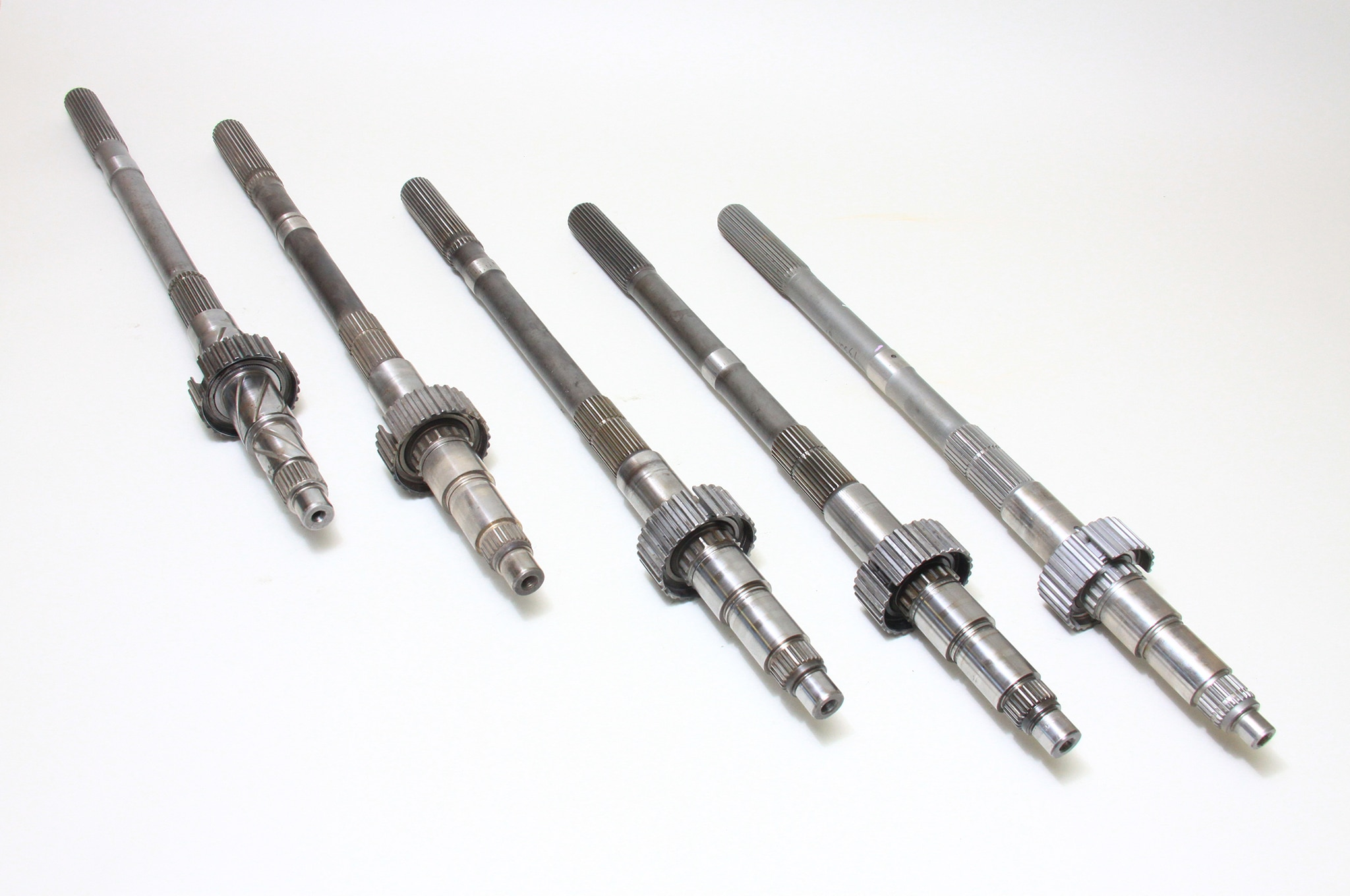 Five T 5 Output Shafts