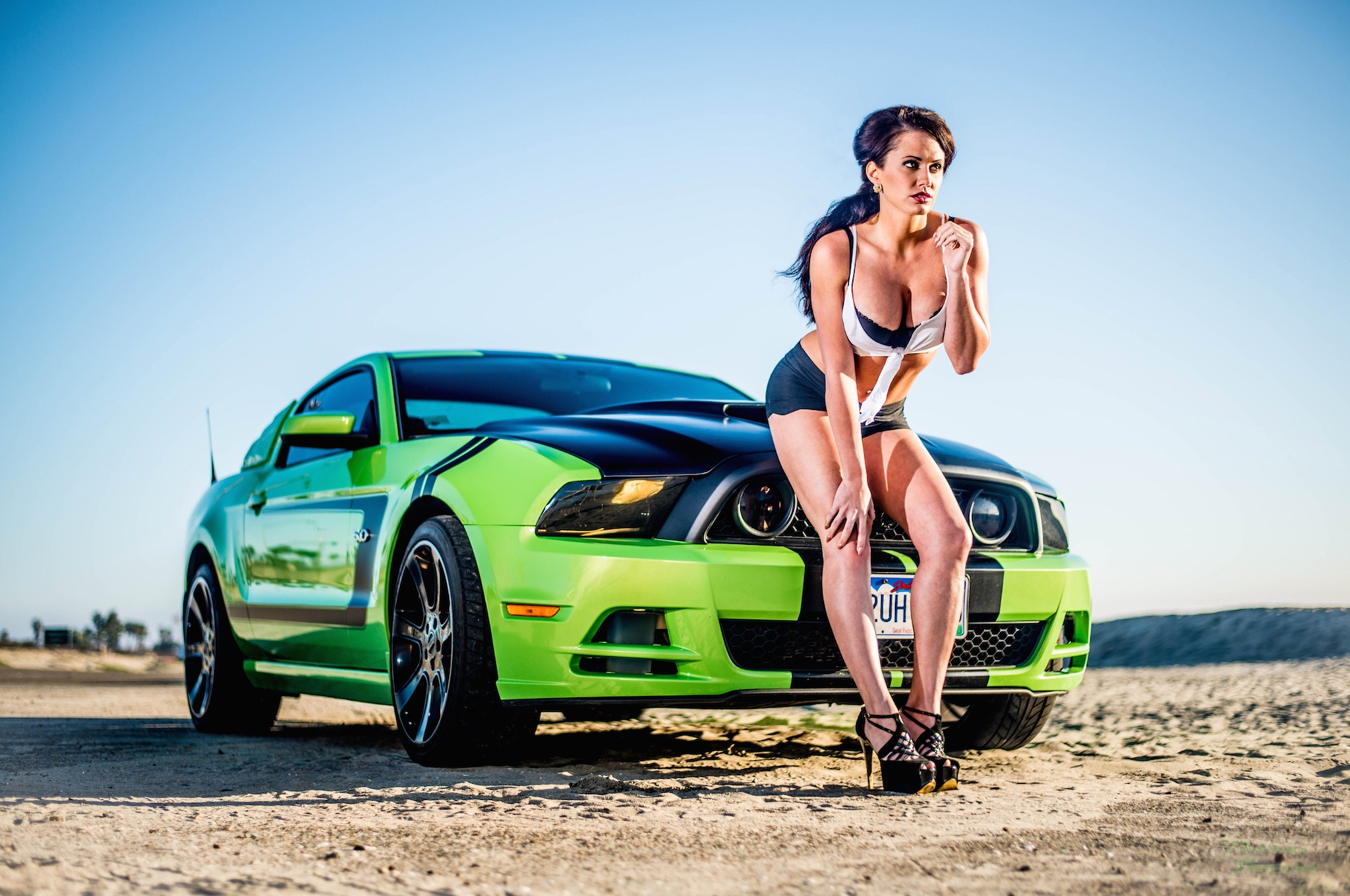 2013 Mustang Gt Devin Bagley Mustang Babe Of The Month 06