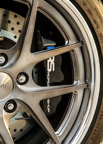 1965 Ford Mustang Wheel Detail
