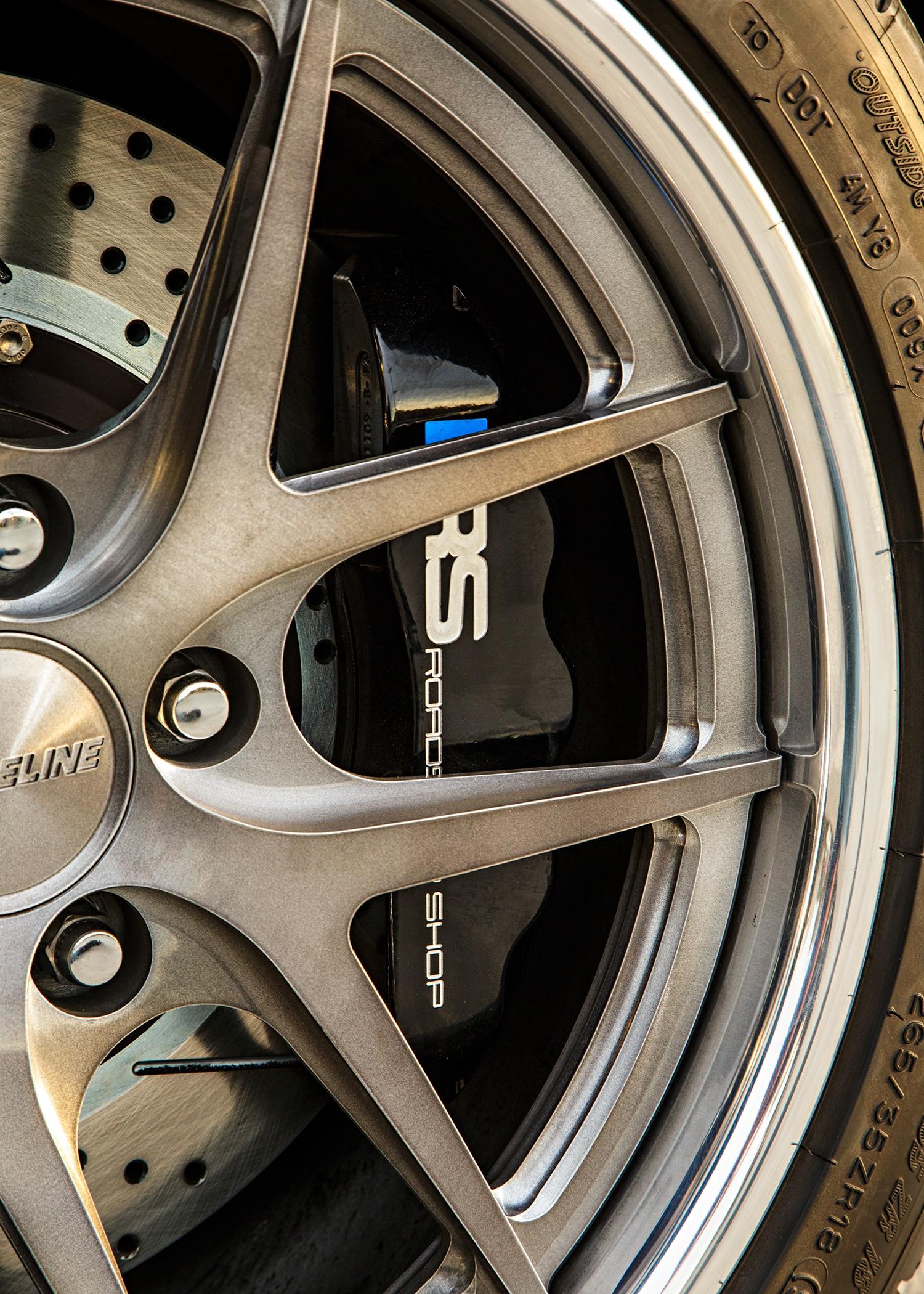 1965 Ford Mustang Wheel Detail