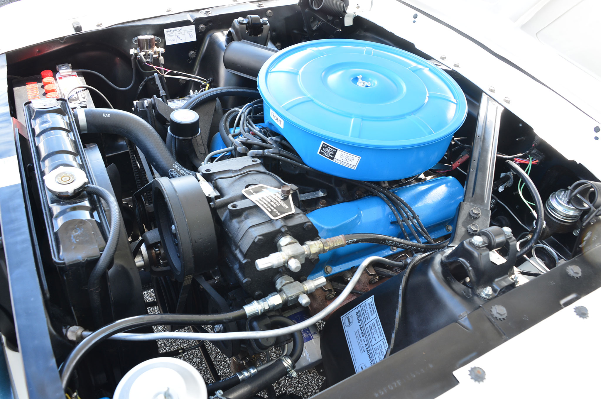 6 1964 Ford Mustang Pace Car Engine