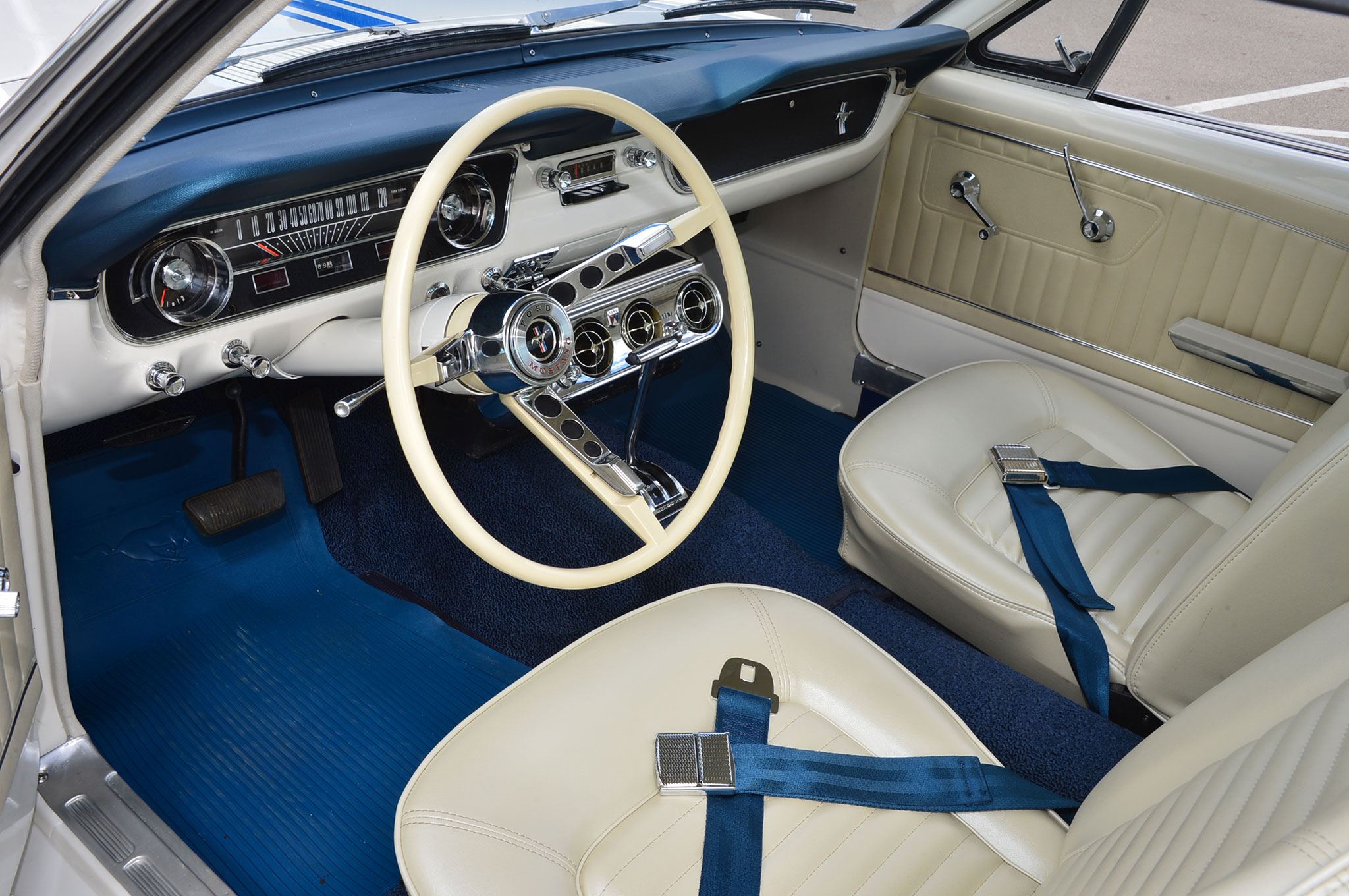 8 1964 Ford Mustang Interior Restored