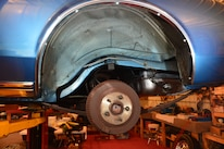 1973 Ford Mustang Rear Wheelwell