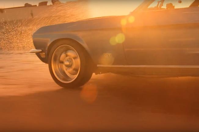 1968 Mustang Rolling Stones Video 01