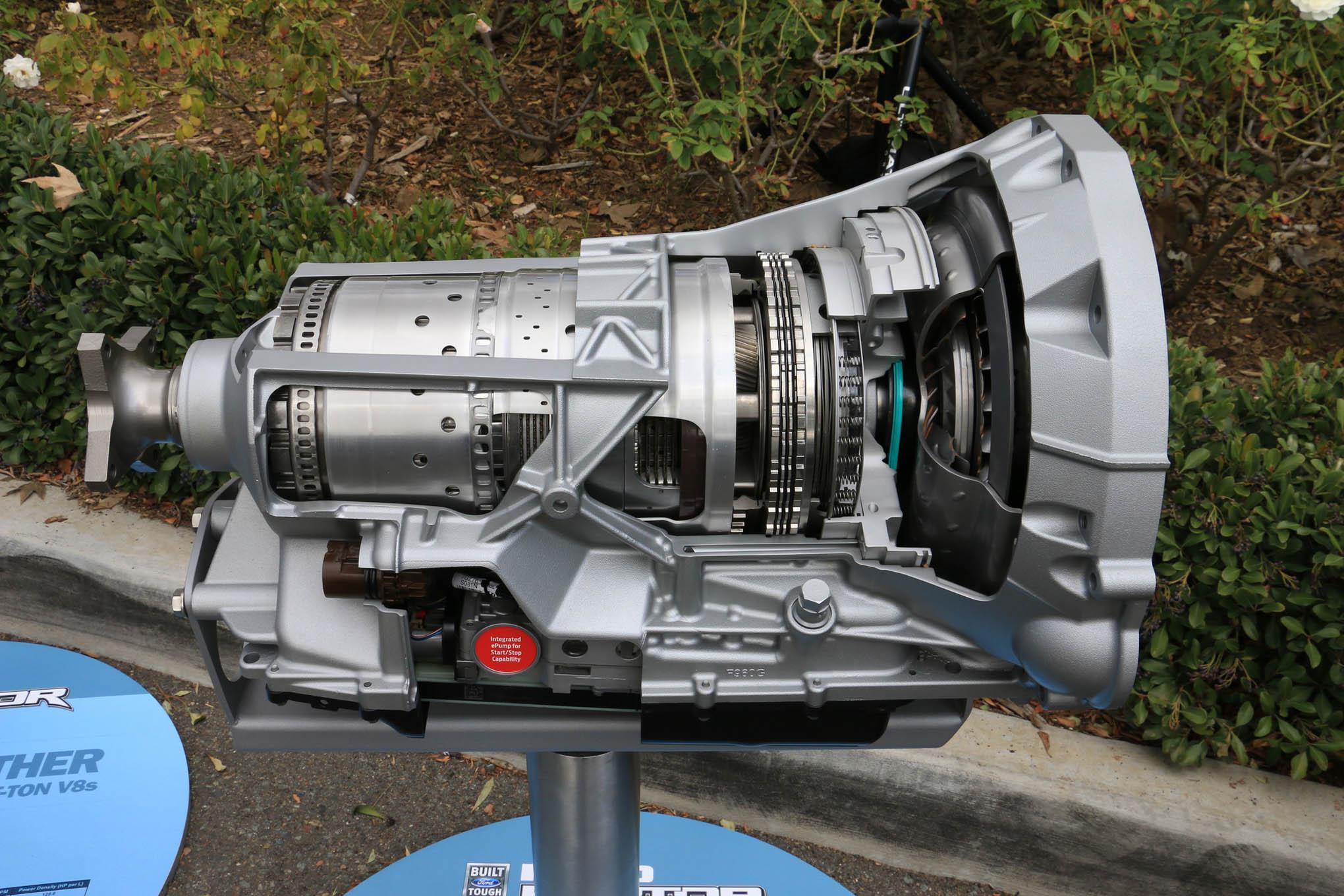 022 10 Speed Gearbox