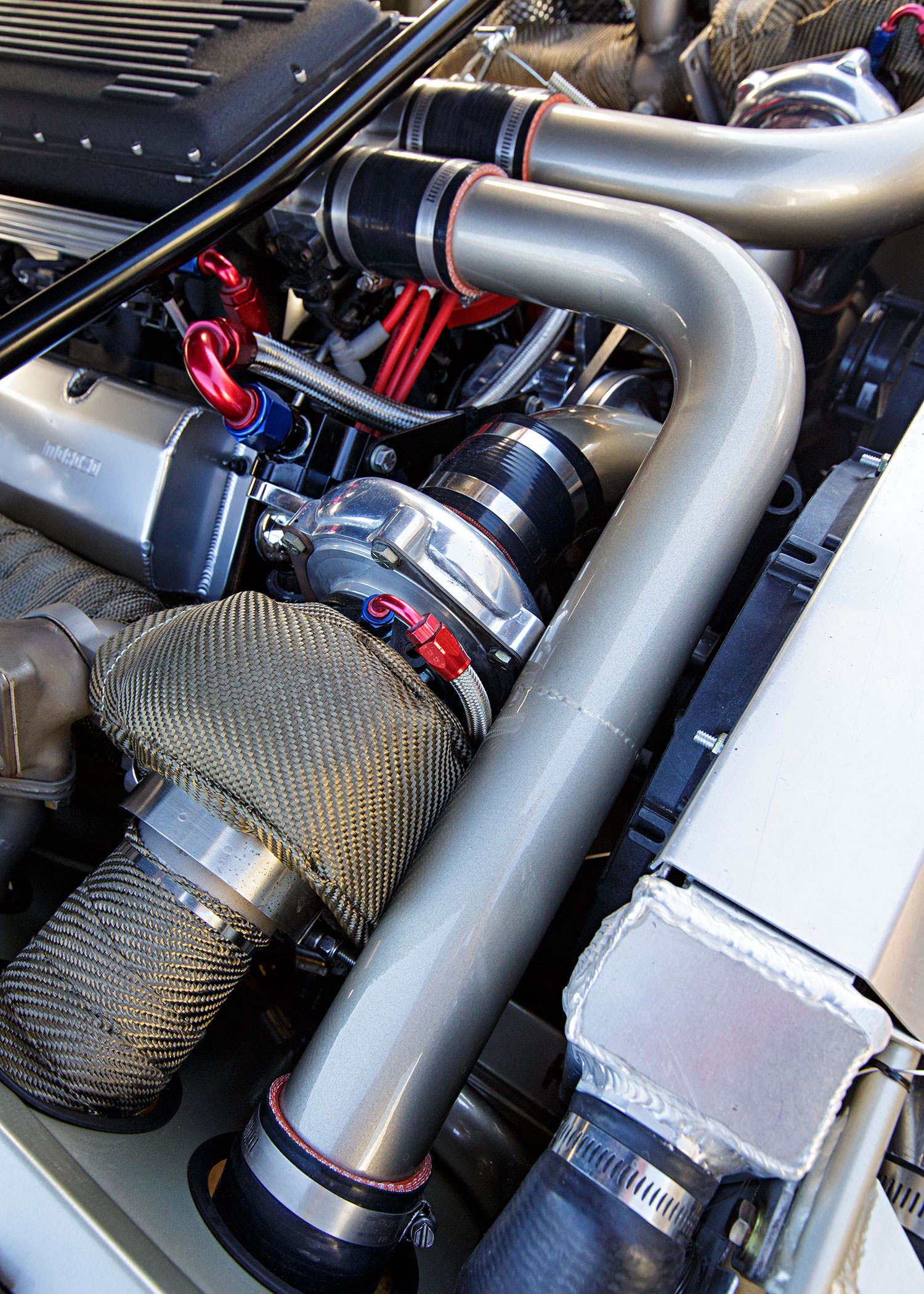 1968 Ford Mustang Engine