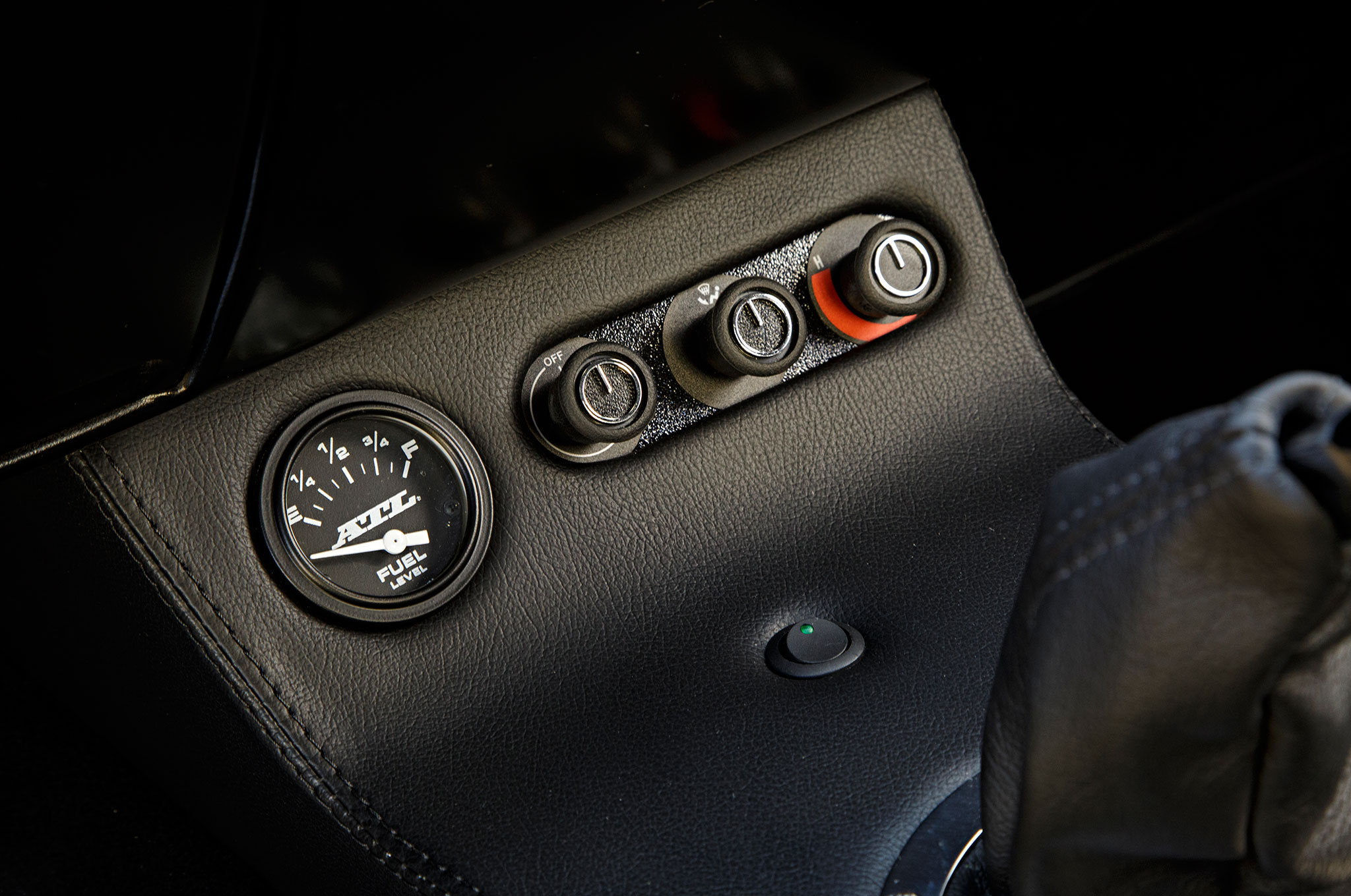 1968 Ford Mustang Controls