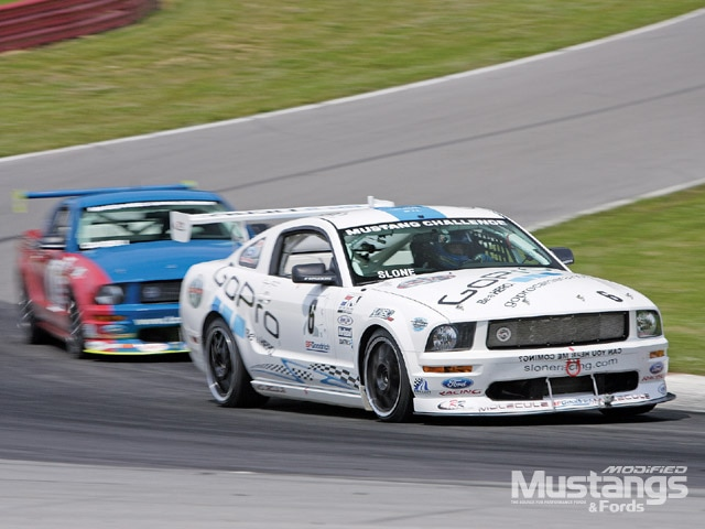 Ford Racing Mustang Challenge Front View