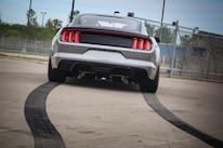 2015 Ford Mustang S550 Watson Racing Rear Skidmarks