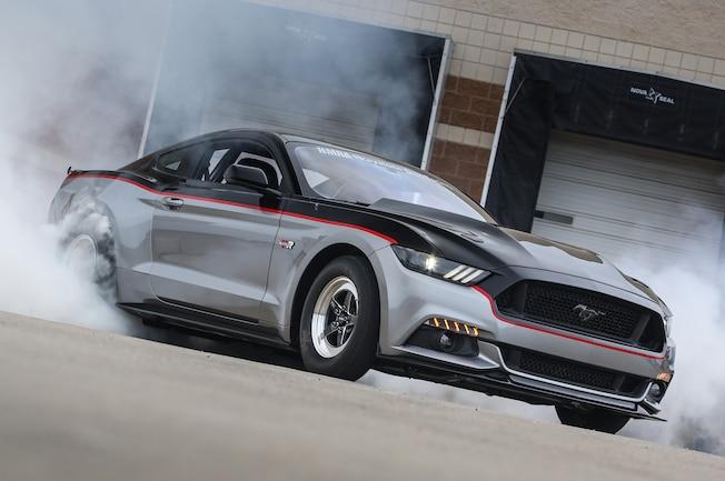 2015 Ford Mustang S550 Watson Racing Burnout