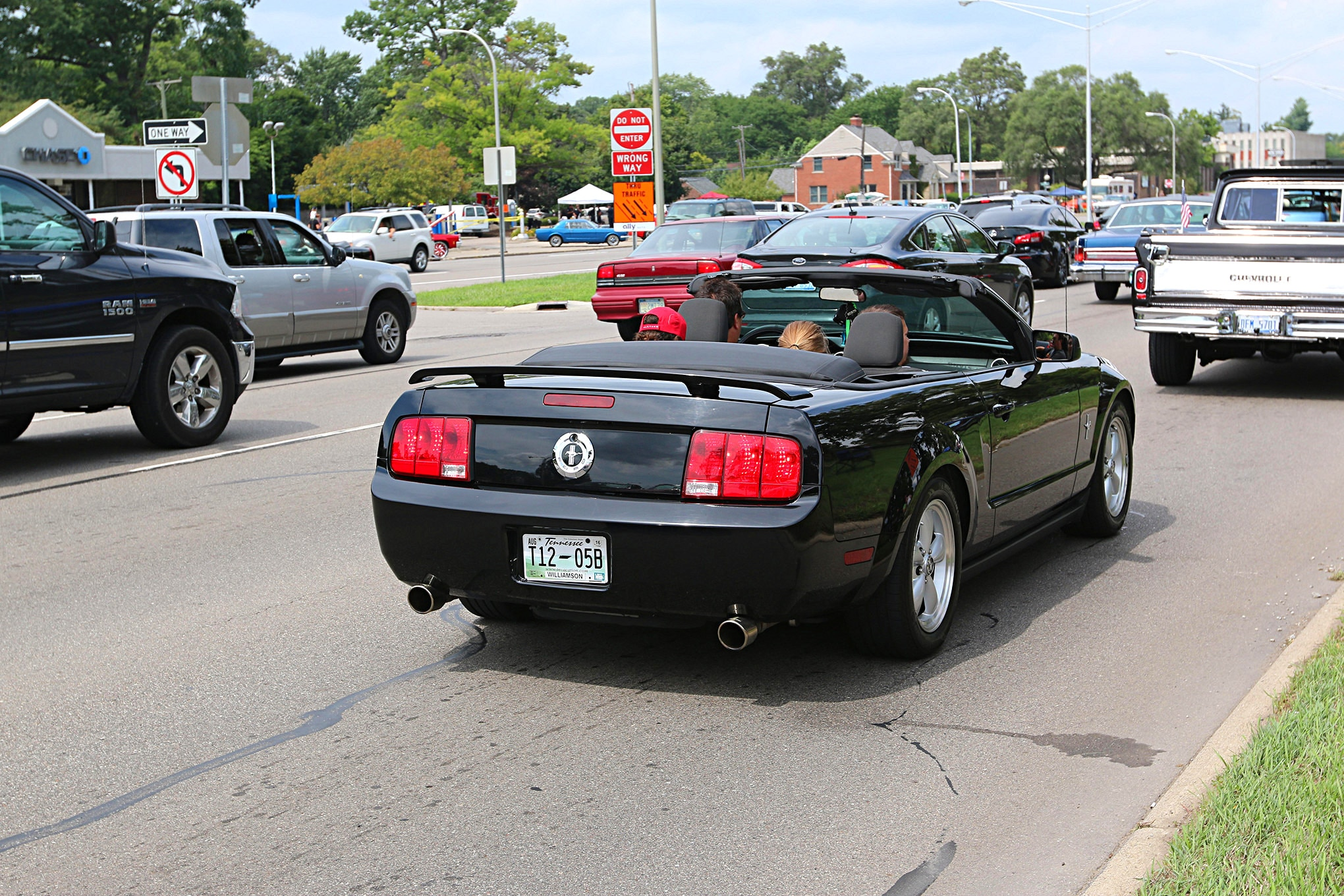 2016 Woodward Dream Cruise Mustangs 135