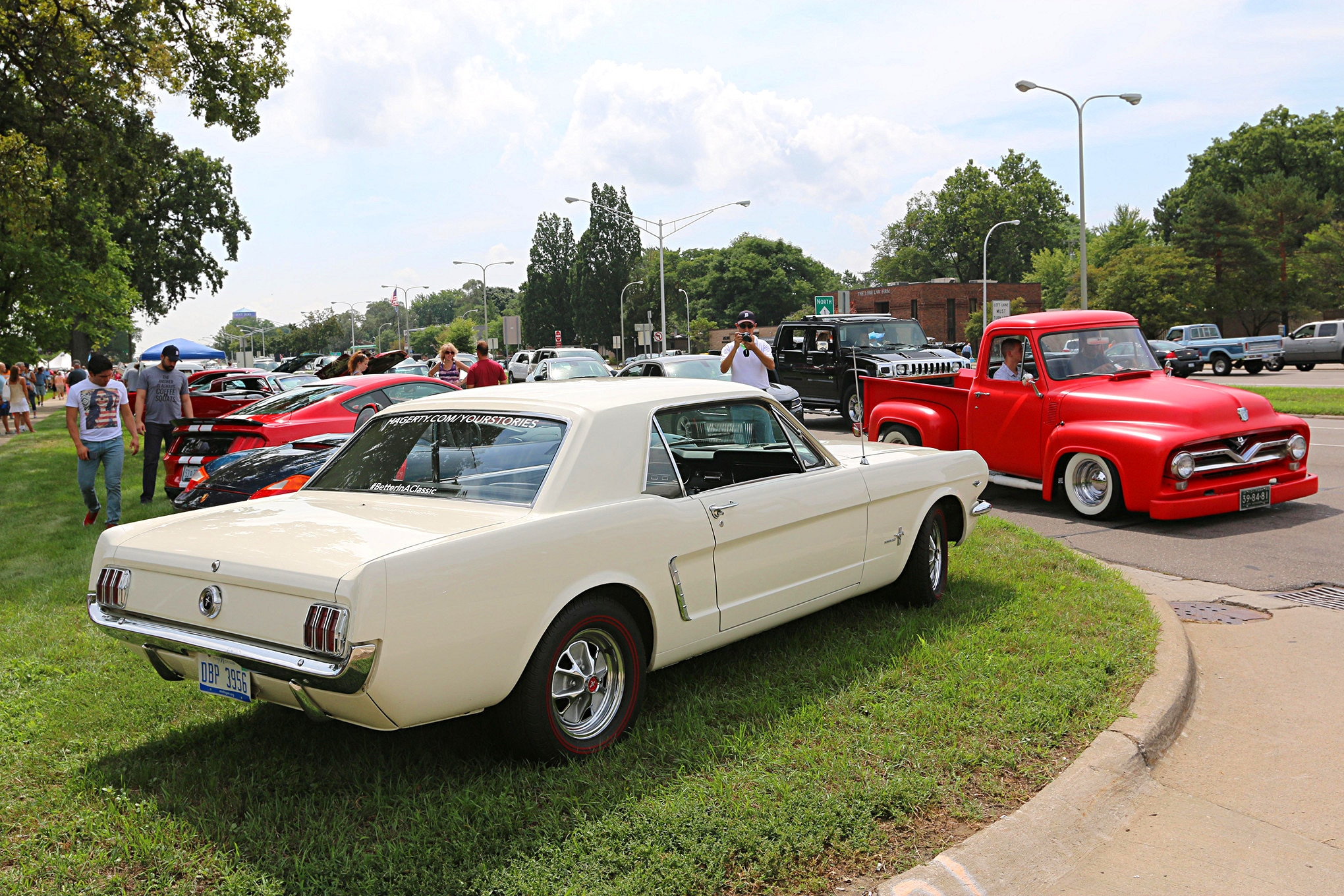 2016 Woodward Dream Cruise Mustangs 127