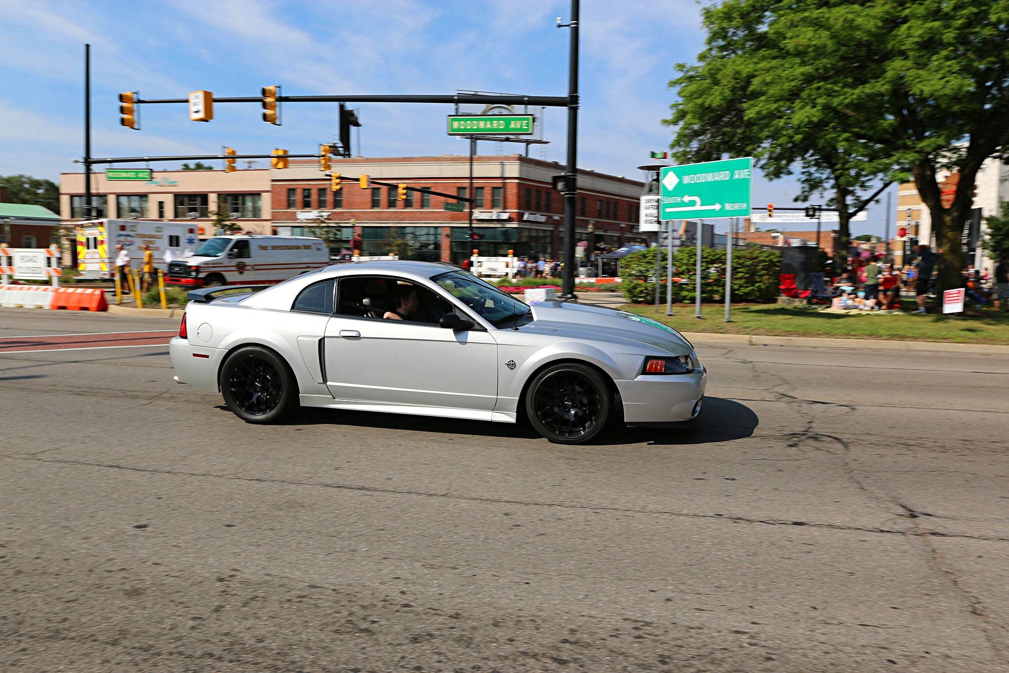2016 Woodward Dream Cruise Mustangs 125