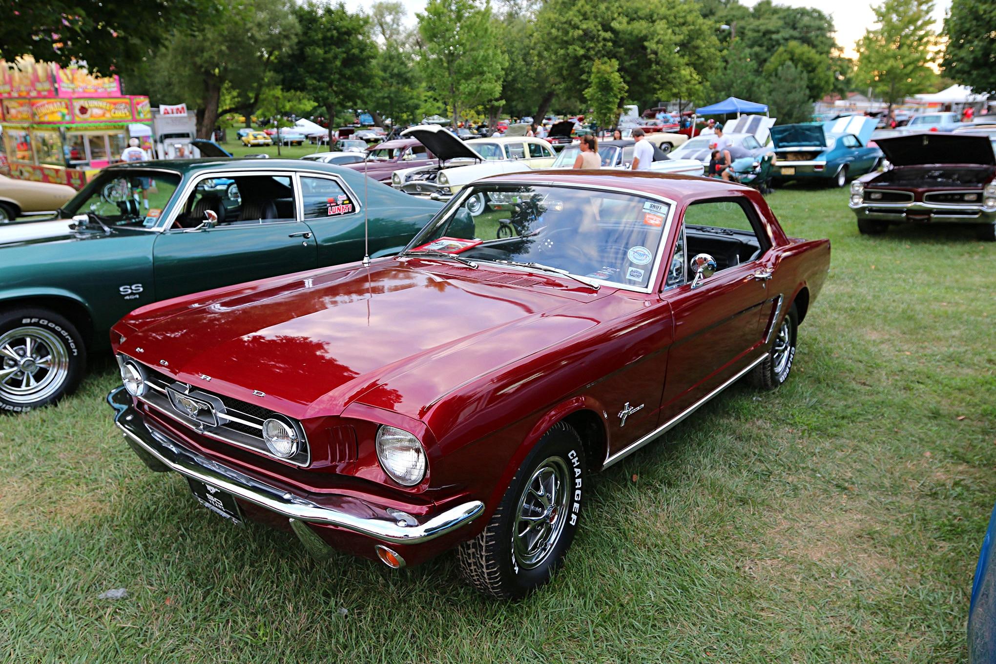 2016 Woodward Dream Cruise Mustangs 118