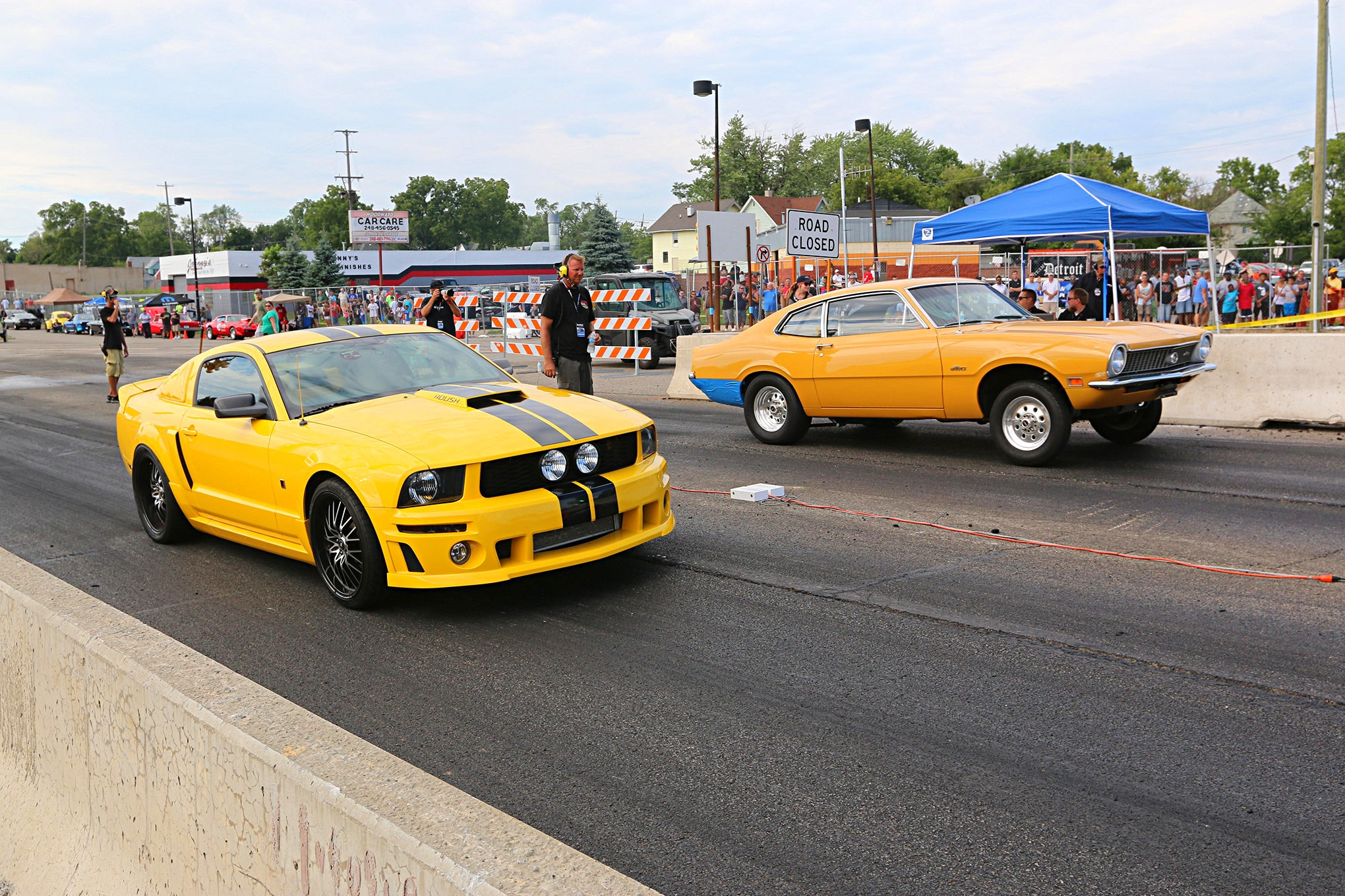 2016 Woodward Dream Cruise Mustangs 109