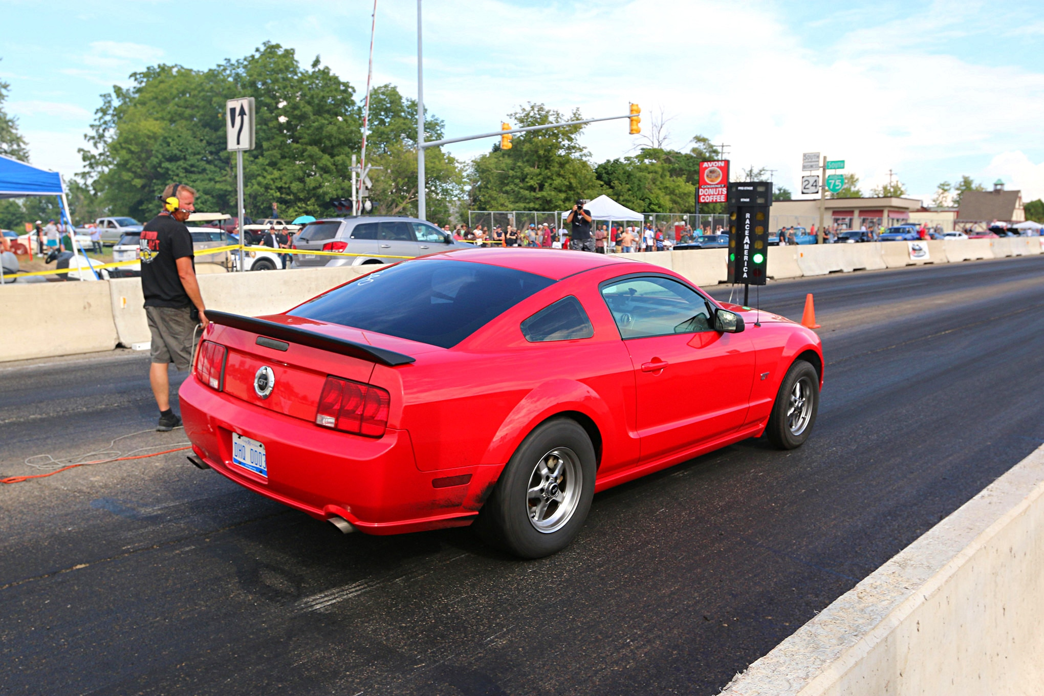 2016 Woodward Dream Cruise Mustangs 107