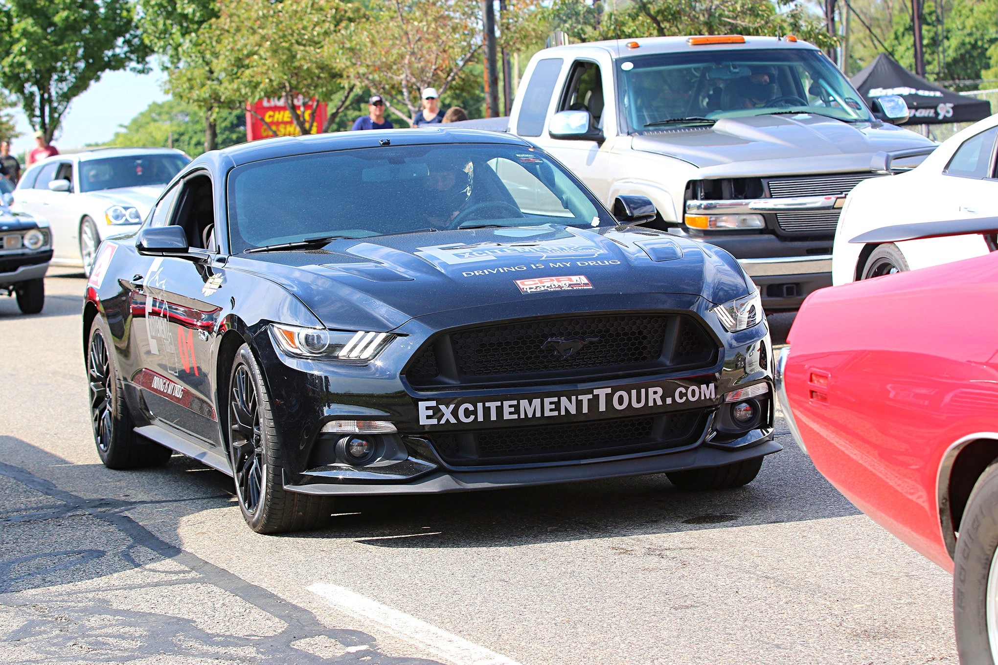 2016 Woodward Dream Cruise Mustangs 100