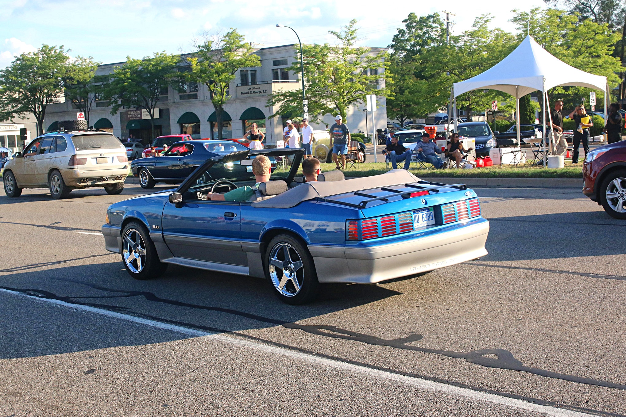 2016 Woodward Dream Cruise Mustangs 091