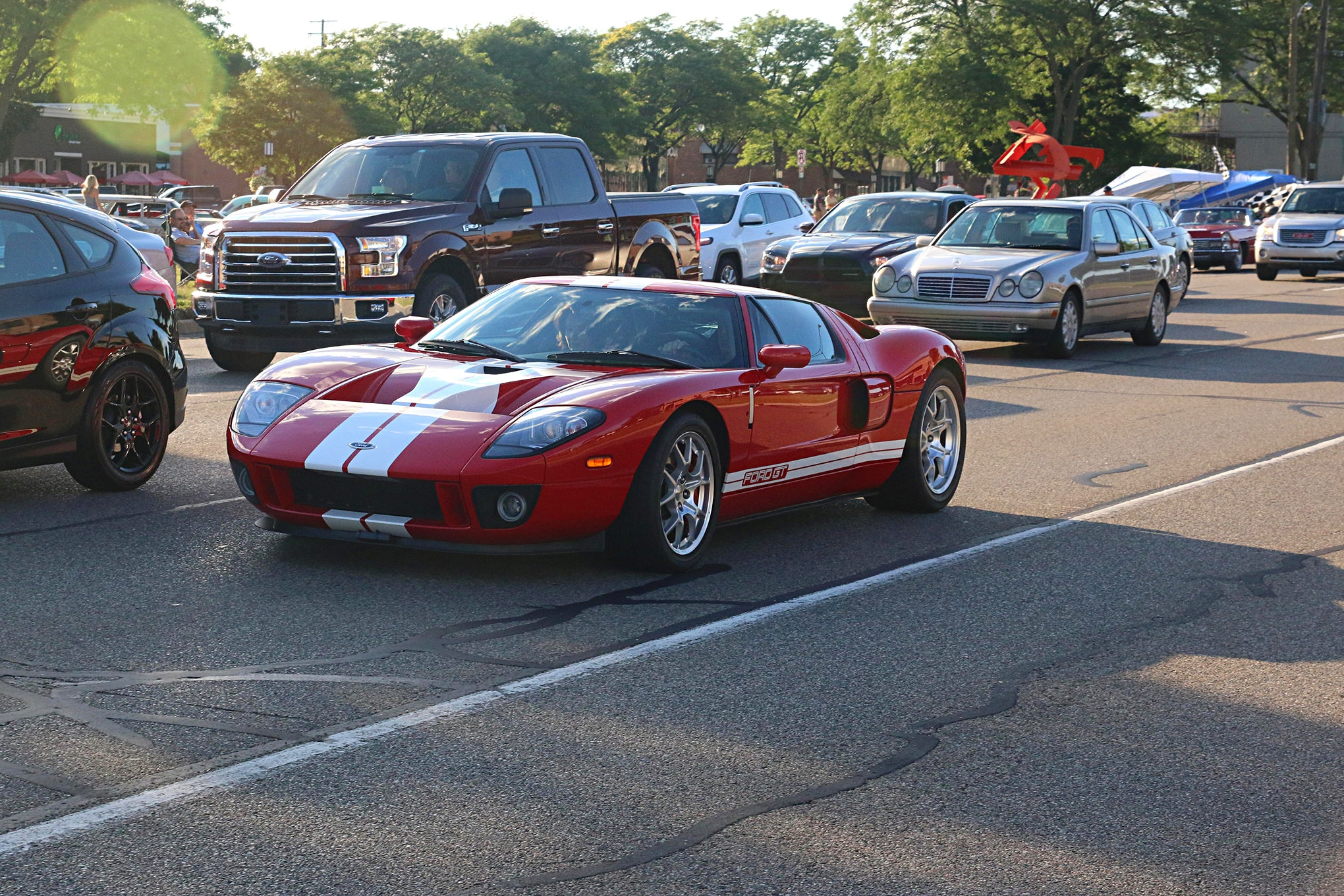 2016 Woodward Dream Cruise Mustangs 089