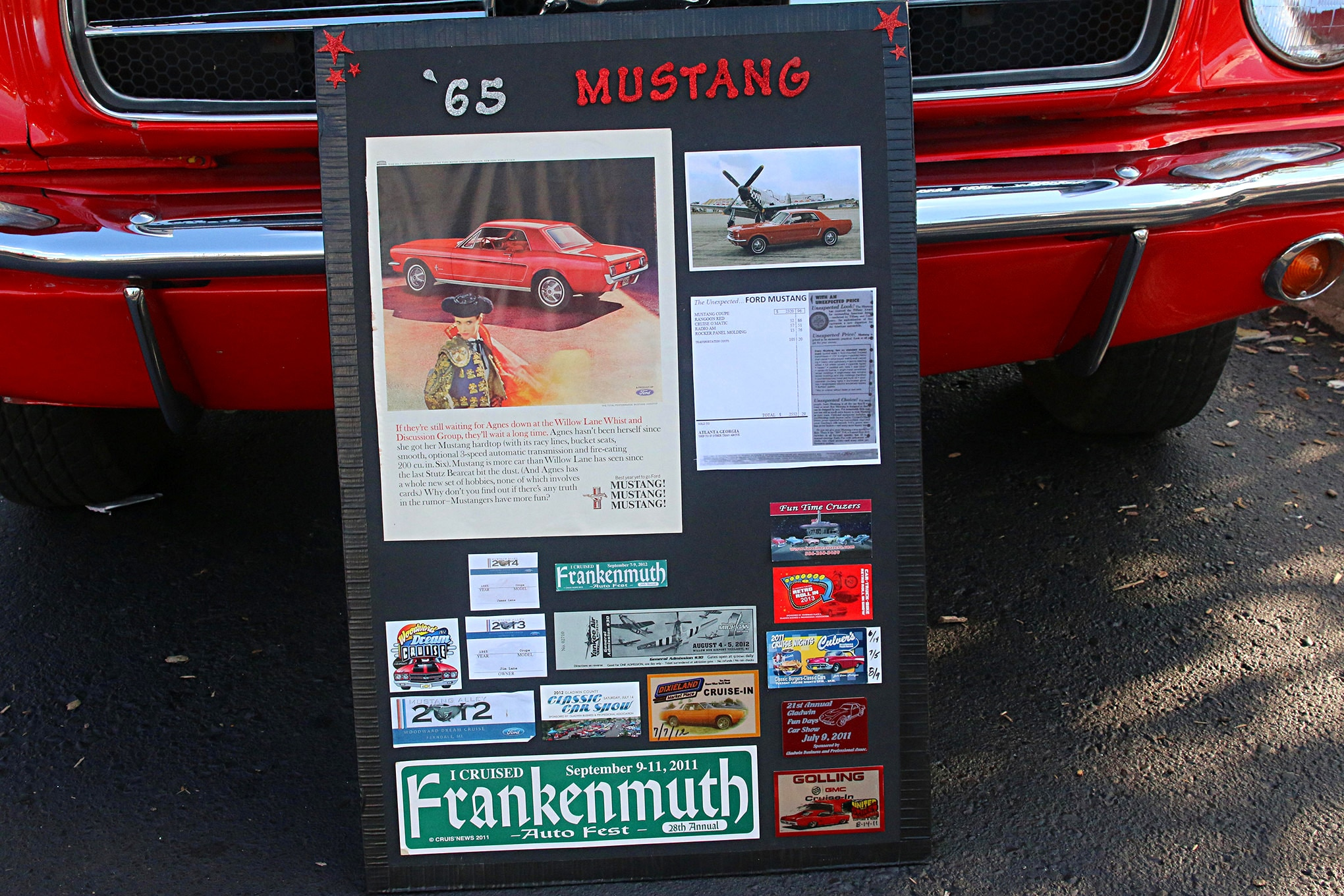 2016 Woodward Dream Cruise Mustangs 086
