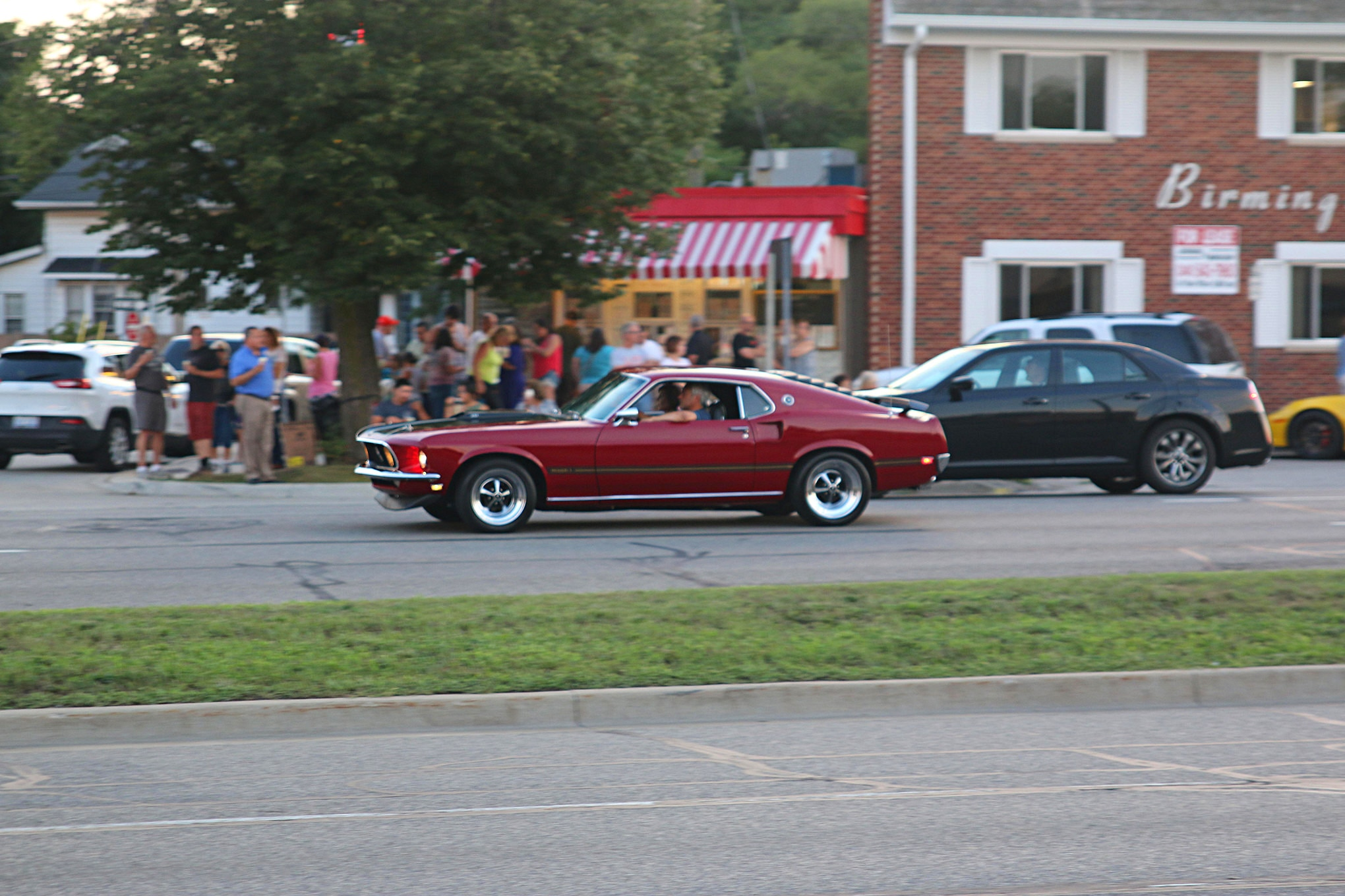 2016 Woodward Dream Cruise Mustangs 071