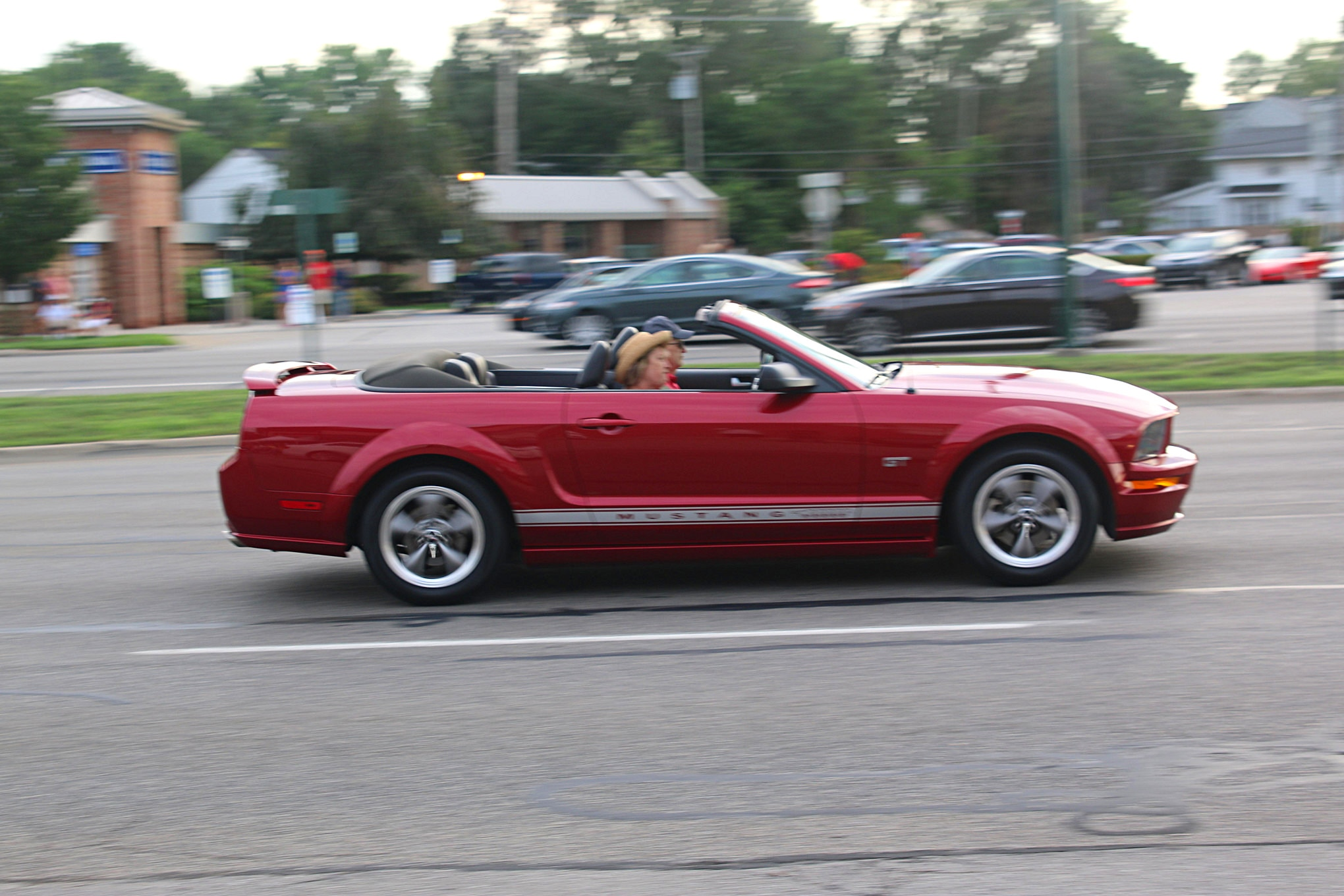 2016 Woodward Dream Cruise Mustangs 056